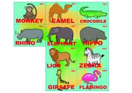 Play me Kiddo Animals African